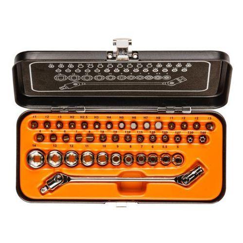 Zestaw kluczy nasadowych NEO 1/4 cala 08-603 (41 elementy) z kategorii Zestawy narzędzi ręcznych