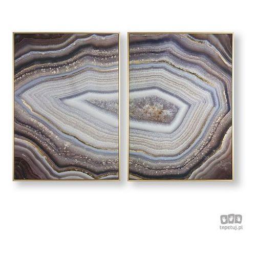 Obraz 2-częściowy w ramie Glamorous Gems 105885 Graham&Brown, 105885