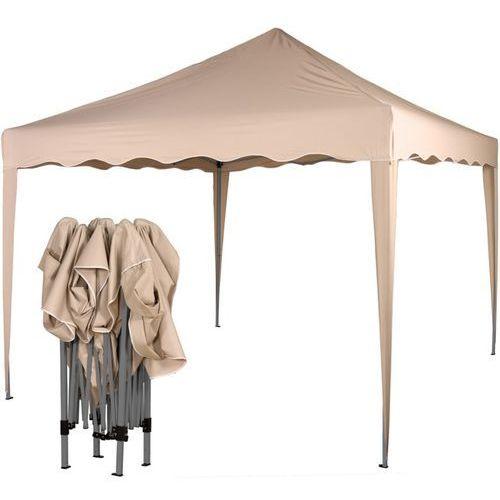 Ekspresowy beżowy pawilon namiot ogrodowy 3x3m - beżowy marki Instent ®
