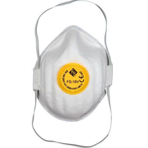Vorel Półmaski filtrujące jednorazowe z zaworem ffp1/kz (5szt) 74541 - zyskaj rabat 30 zł