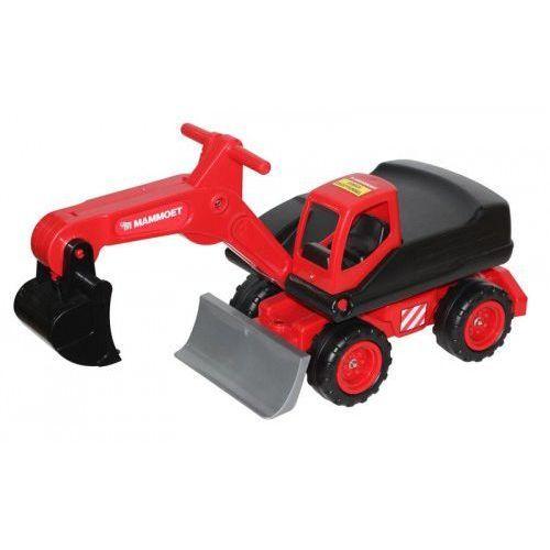 Wader quality toys Mega koparka kołowa mammoet