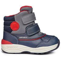 Geox chłopięce buty zimowe za kostkę new gulp, 20, niebieskie (8058279501058)