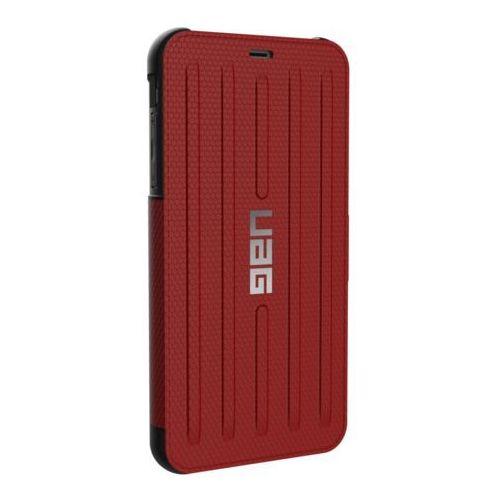 Uag metropolis - obudowa ochronna do iphone xs max (czerwona) marki Urban armor gear