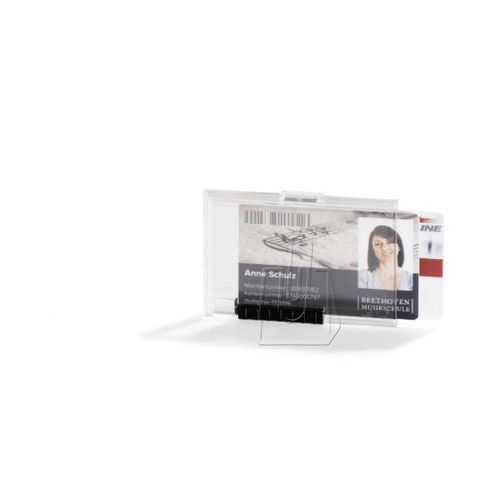 Durable Etui  na 2 karty plastikowe z mechanizmem wysuwającym 10 szt. 8921-19