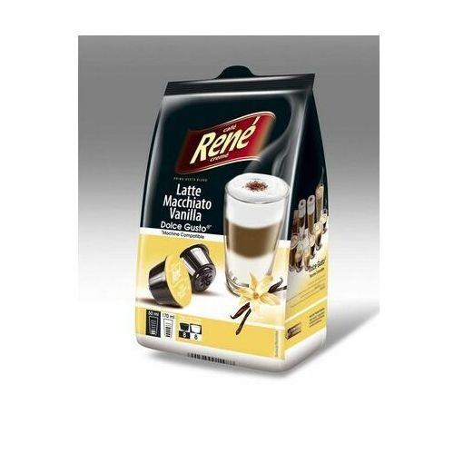 Rene Latte Macchiato Vanilla kapsułki do Dolce Gusto – 16 kapsułek