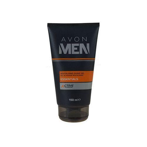 Avon Men Essentials rewitalizujący żel do golenia (Revitalising Shave Gel) 150 ml