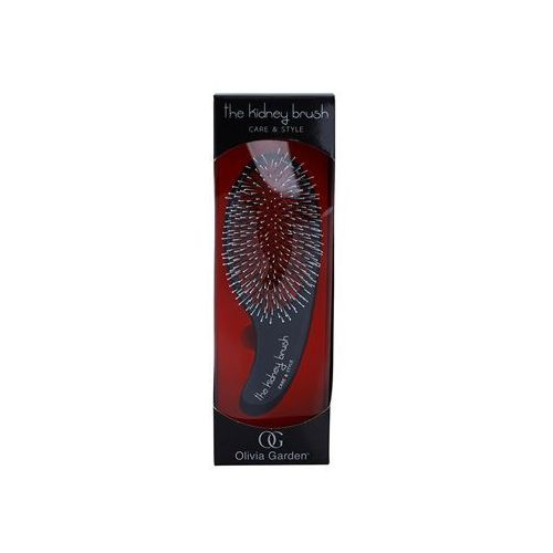 Olivia garden  the kidney care and style szczotka do włosów ki1pc-csr (red edition)