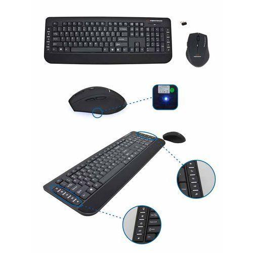 KLAWIATURA + MYSZ EK120 BEZPRZEWODOWA 2,4GHz USB, E5901299900024
