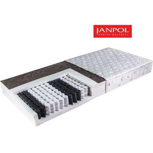 Janpol ariadna - materac kieszeniowy, sprężynowy, rozmiar - 160x200, pokrowiec - jersey standard wyprzedaż, wysyłka gratis (5906267036484)