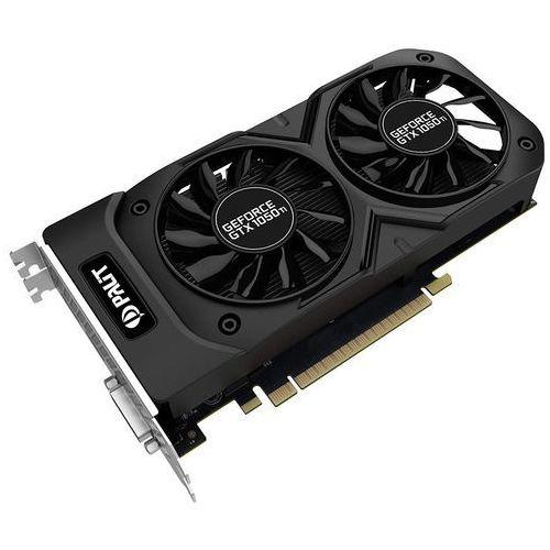 Palit GeForce CUDA GTX 1050 DUAL OC 4GB DDR5 128BIT DVI-D/HDMI/DP DARMOWA DOSTAWA DO 400 SALONÓW !!, NE5105TS18G1D