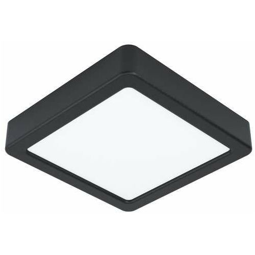 Eglo fueva 5 99243 plafon lampa sufitowa 1x10.5w led czarny (9002759992439)