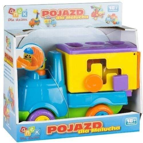 Anek Pojazd dla malucha - ciężarówka