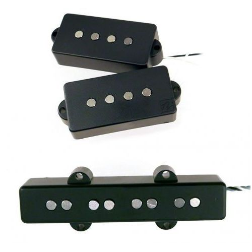 Nordstrand bass przetworniki - np4 + nj4sv - hum cancelling, bridge / 4-string (black)
