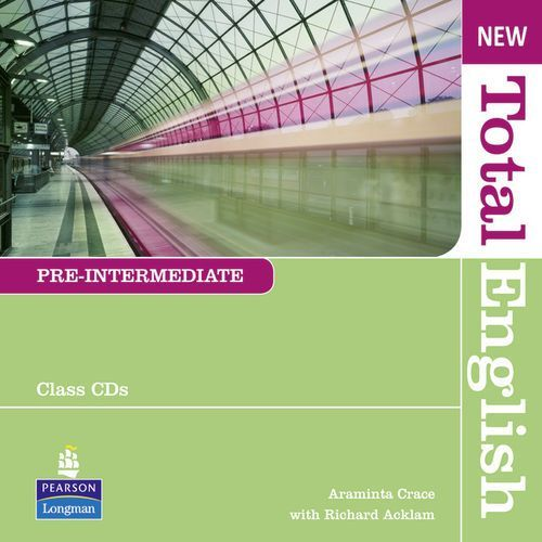 New Total English Pre-Intermediate Zestaw Płyt Audio CD do Podręcznika (9781408254295)