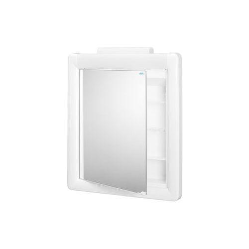 szafka lustrzana 525x600mm, biała 91002 marki Bisk