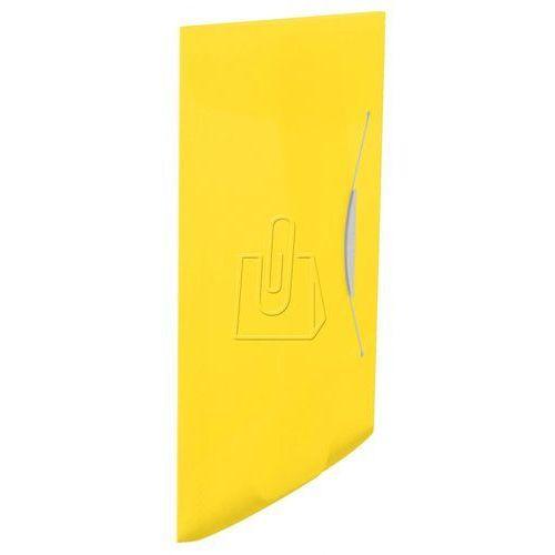 Teczka z gumką vivida 15 mm, żółta 624045 marki Esselte