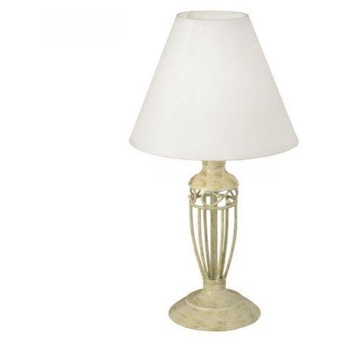 83141 - lampa stołowa antica 1xe14/60w złoty/ beżowy marki Eglo