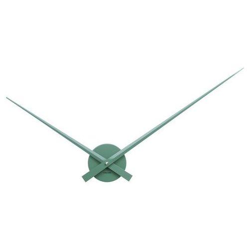 Karlsson :: zegar ścienny little big time zielony - zielony