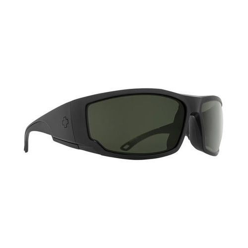 Okulary słoneczne tackle polarized tackle matte black - happy gray green polar marki Spy