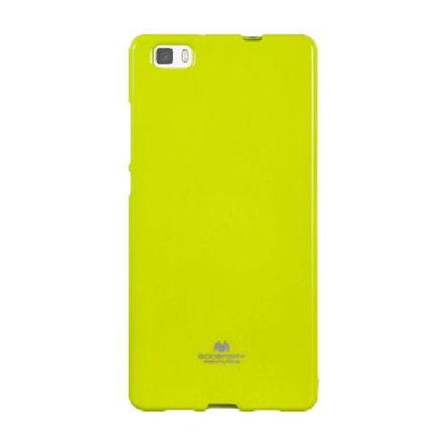 MERCURY JELLY Huawei P8 LITE limonkowy - limonkowy, kolor zielony