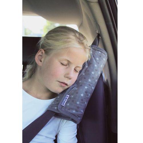 Poduszka na pas bezpieczeństwa dooky - grey stars marki Brak