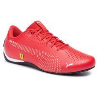 Sneakersy - sf drift cat 5 ultra ii 306422 05 rosso corsa/puma white, Puma, 40-46