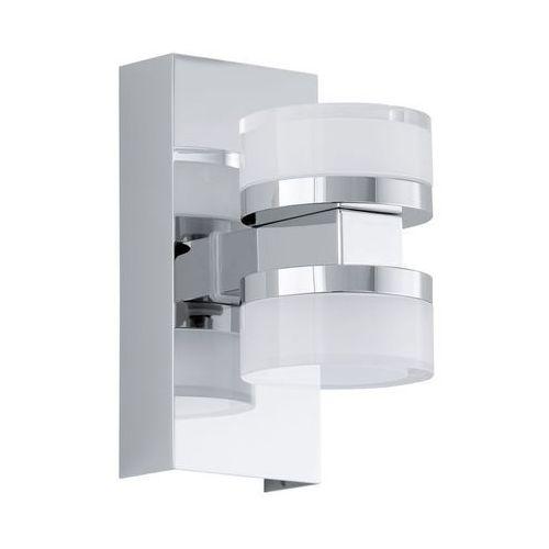 romendo lampa ścienna led chrom, 2-punktowe - 960 lumenów - nowoczesny - obszar wewnętrzny - romendo - 3000 kelwin, marki Eglo