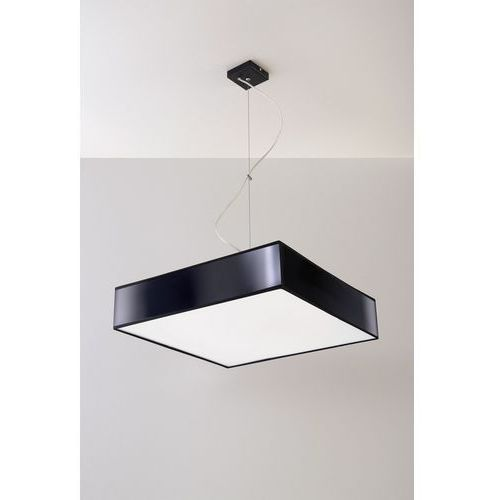 Sollux lighting Lampa wisząca horus 35 czarny + darmowy transport!
