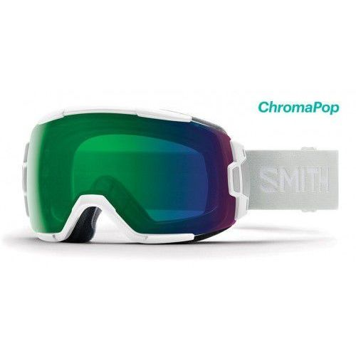 Gogle Smith VICE White Vapor Chromapop Everyday Green Mirror