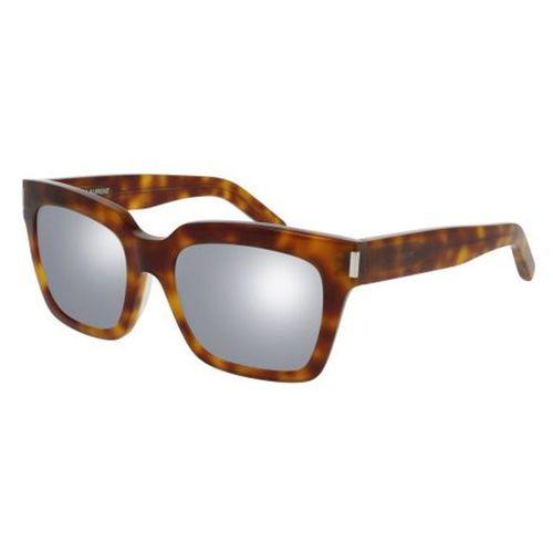 Saint laurent Okulary słoneczne bold 1/f asian fit 011