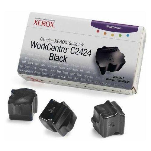 Xerox oryginalny ink 108r00663, black, 3400s, xerox workcentre c2424 malibu, 3szt