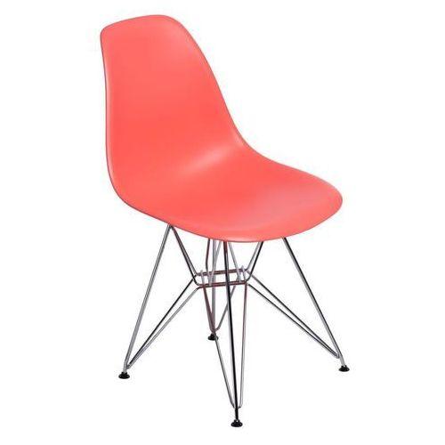 Krzesło p016 pp inspirowane dsr - dark peach marki D2.design