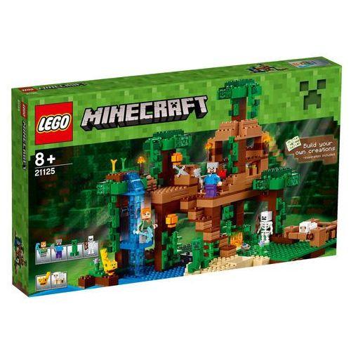 21125 - DOMEK NA DRZEWIE W DŻUNGLI The Jungle Tree House- KLOCKI LEGO MINECRAFT. Najniższe ceny, najlepsze promocje w sklepach, opinie.