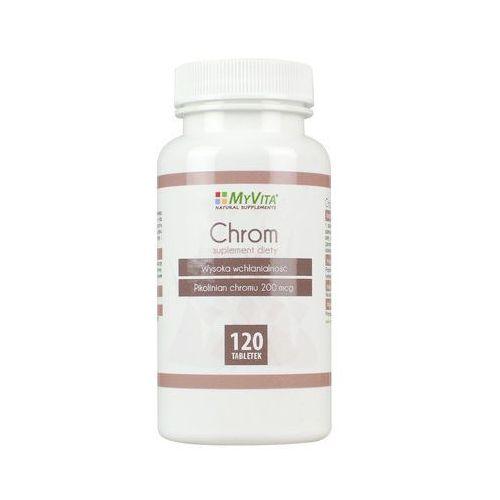 Chrom Pikolinian chromu chrome 200 mcg 120 tabletek MyVita