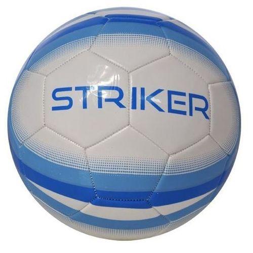 Piłka nożna AXER SPORT Striker Biało-niebieski (rozmiar 5)