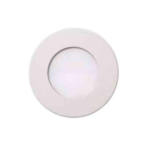 Ideus Oczko lampa sufitowa hl688l 02129 podtynkowa oprawa metalowa led 12w okrągły wpust minimalistyczny biały