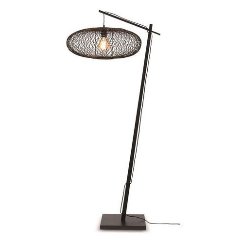 Good&mojo lampa podłogowa cango czarna 60x25 czarny cango/f/ad/b/6025/b
