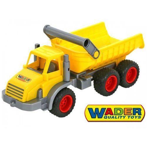 Construck trójosiowy wywrotka marki Wader quality toys