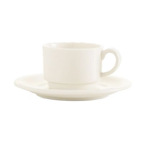 Filiżanka porcelanowa sztaplowana crema marki Fine dine