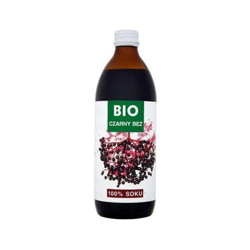 500ml sok czarny bez bez dodatku cukru bio marki Bioavena