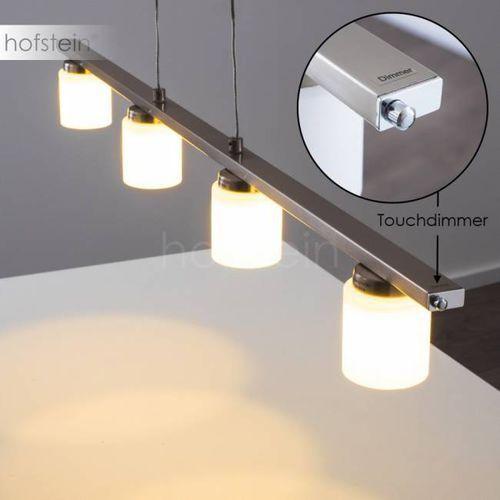 Hofstein Monza lampa wisząca led stal nierdzewna, 4-punktowe - nowoczesny/design - obszar wewnętrzny - monza - czas dostawy: od 2-4 dni roboczych