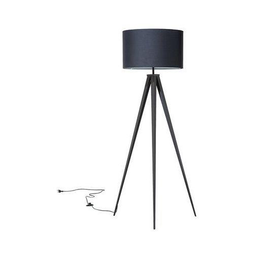 Beliani Lampa stojąca czarna - podłogowa - oświetlenie - stiletto