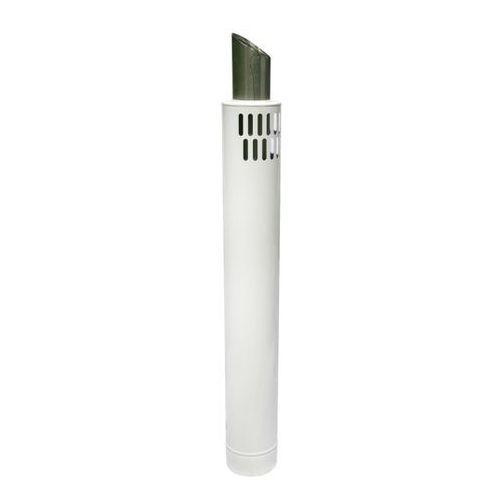 Rura wylotowa Spiroflex 60/100 mm biała 1 m