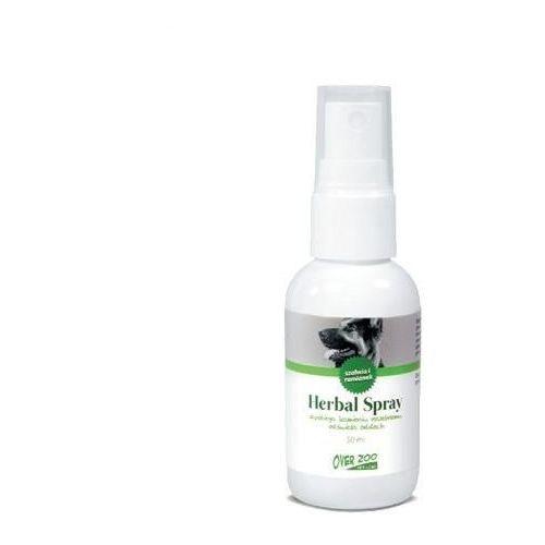 OVER ZOO Vet Line Herbal Spray zapobiegający kamieniowi nazębnemu 50ml