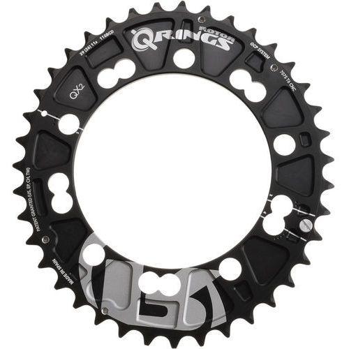 Rotor QX2 Q-Ring MTB Zębatka rowerowa 110mm zewn. czarny 36 zębów 2018 Zębatki przednie (8434366000794)