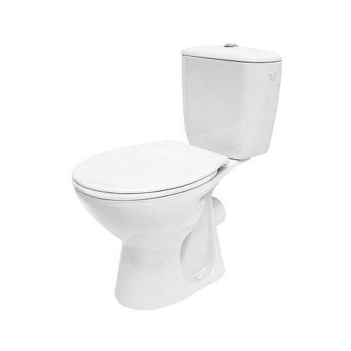 Cersanit president kompakt wc z odpływem poziomym z deską k08-038