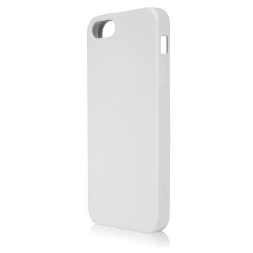 Etui XQISIT do Apple iPhone 5/5S Flex Case Biały, kolor biały