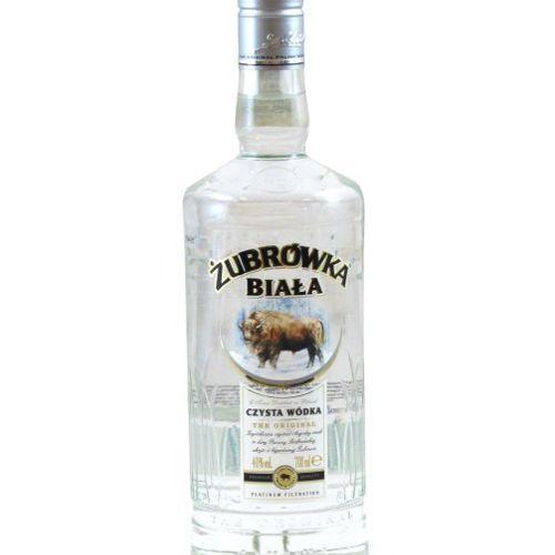 OKAZJA - Wódka żubrówka biała 0,7 l wyprodukowany przez Polmos białystok