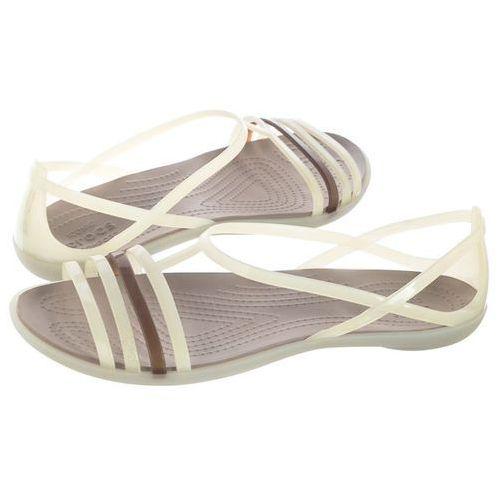 Sandały isabella sandal w oyster 202465-11o (cr100-f), Crocs