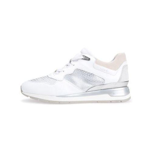 shahira tenisówki i trampki white/offwhite marki Geox